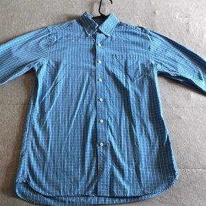 Southern Tide Classic Fit Pocketed Button up-Blue
